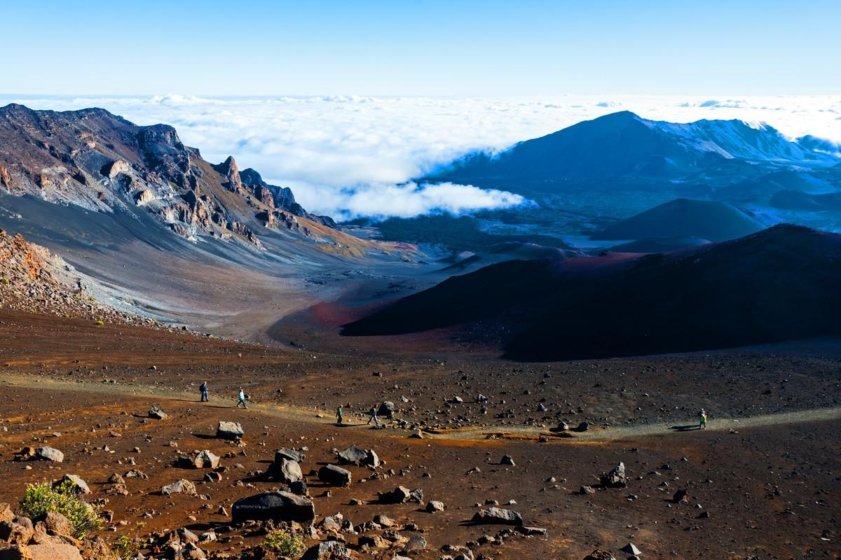 Haleakal? National Park, island of Maui, Hawaii