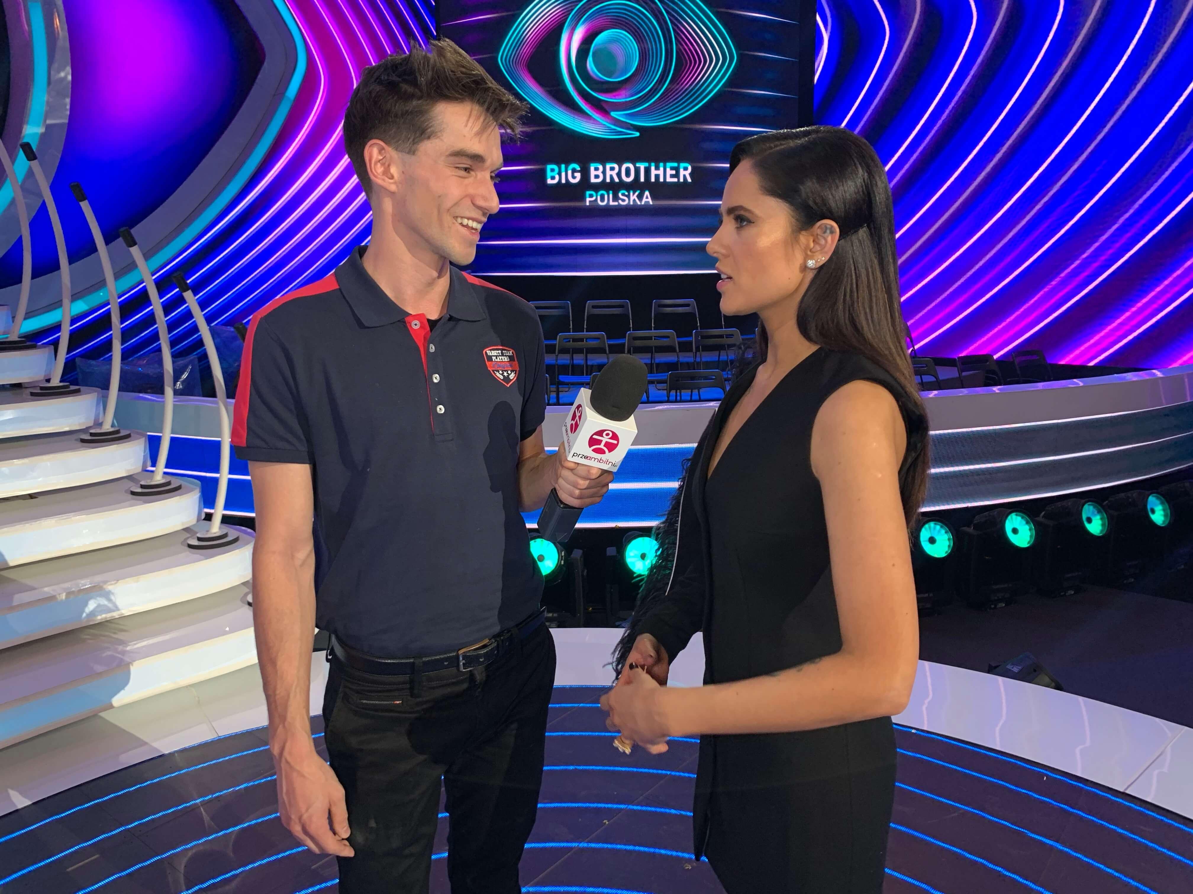 Gabi Drzewiecka z Big Brothera rozmawia z Łukaszem Darłakiem z portalu przeAmbitniPL 02