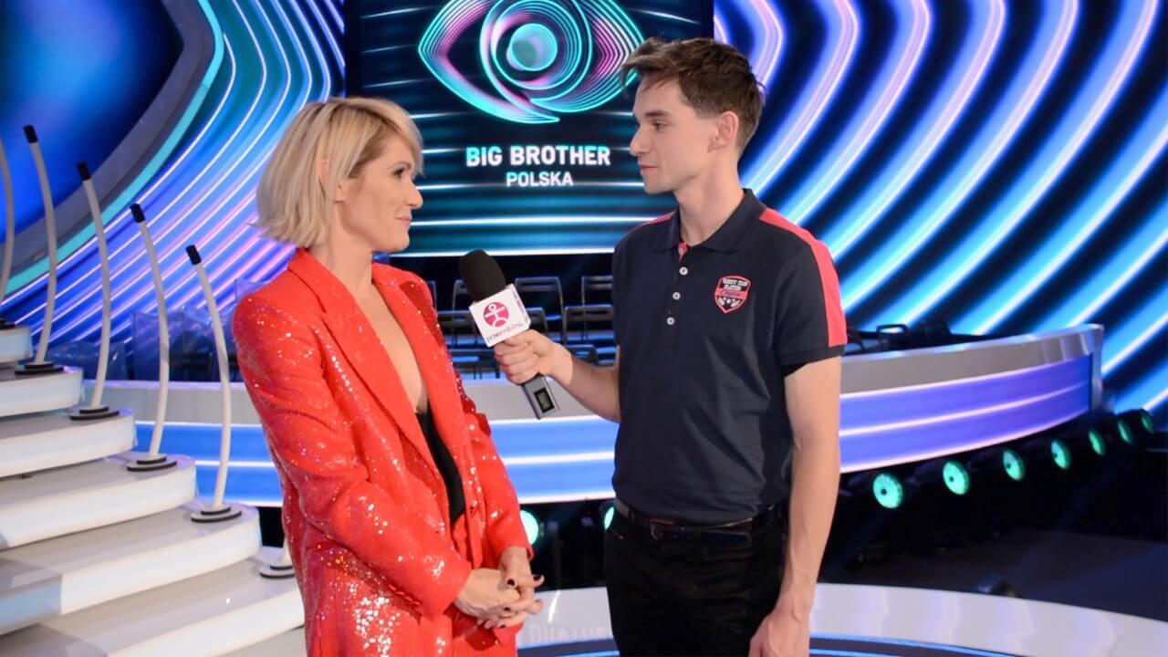 Małgorzata Ohme z Big Brother rozmawia z Łukaszem Darłakiem dla portalu przeAmbitni 08