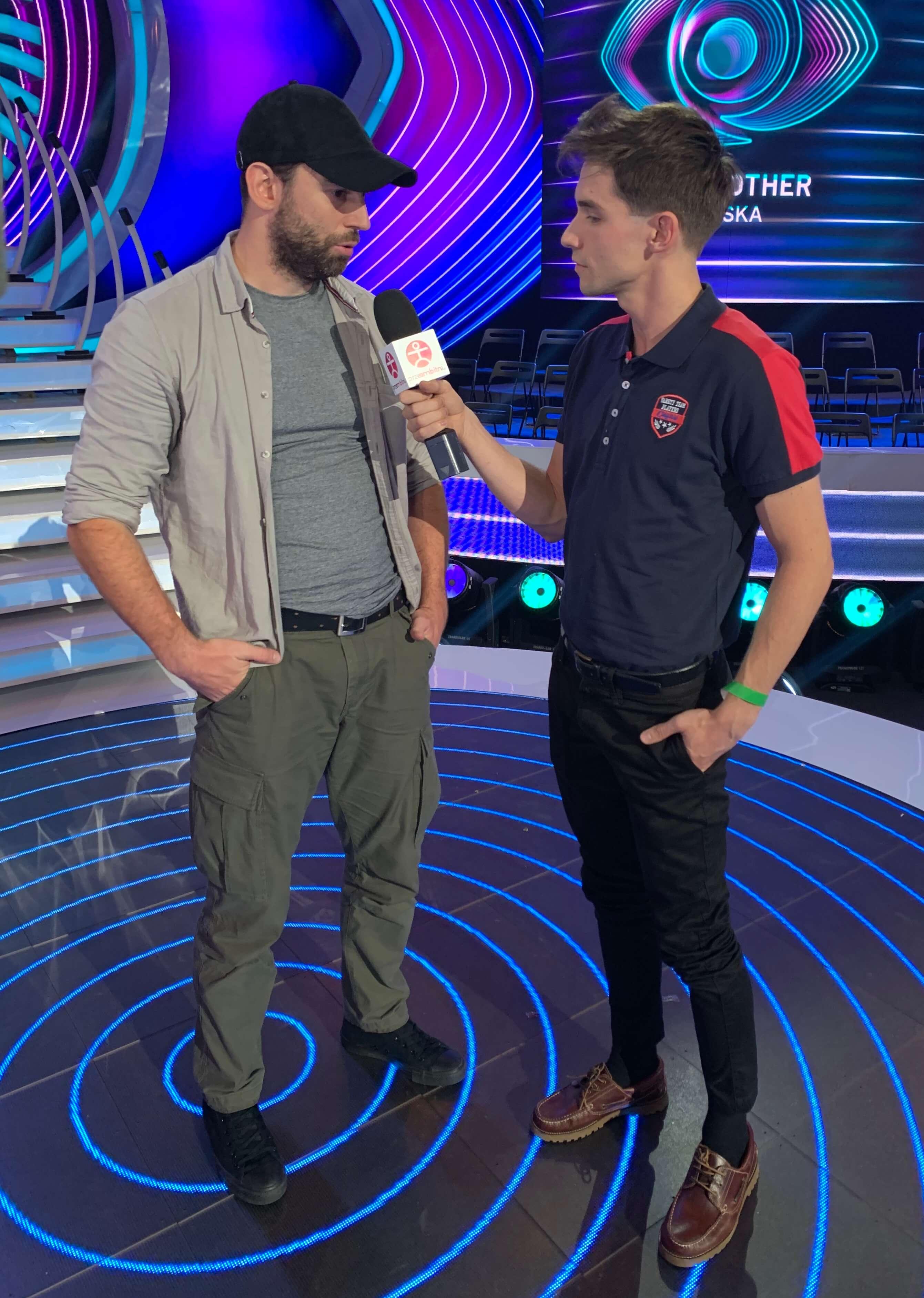 Przemysław Karda z Big Brothera rozmawia z Łukaszem Darłakiem z portalu przeAmbitni 06