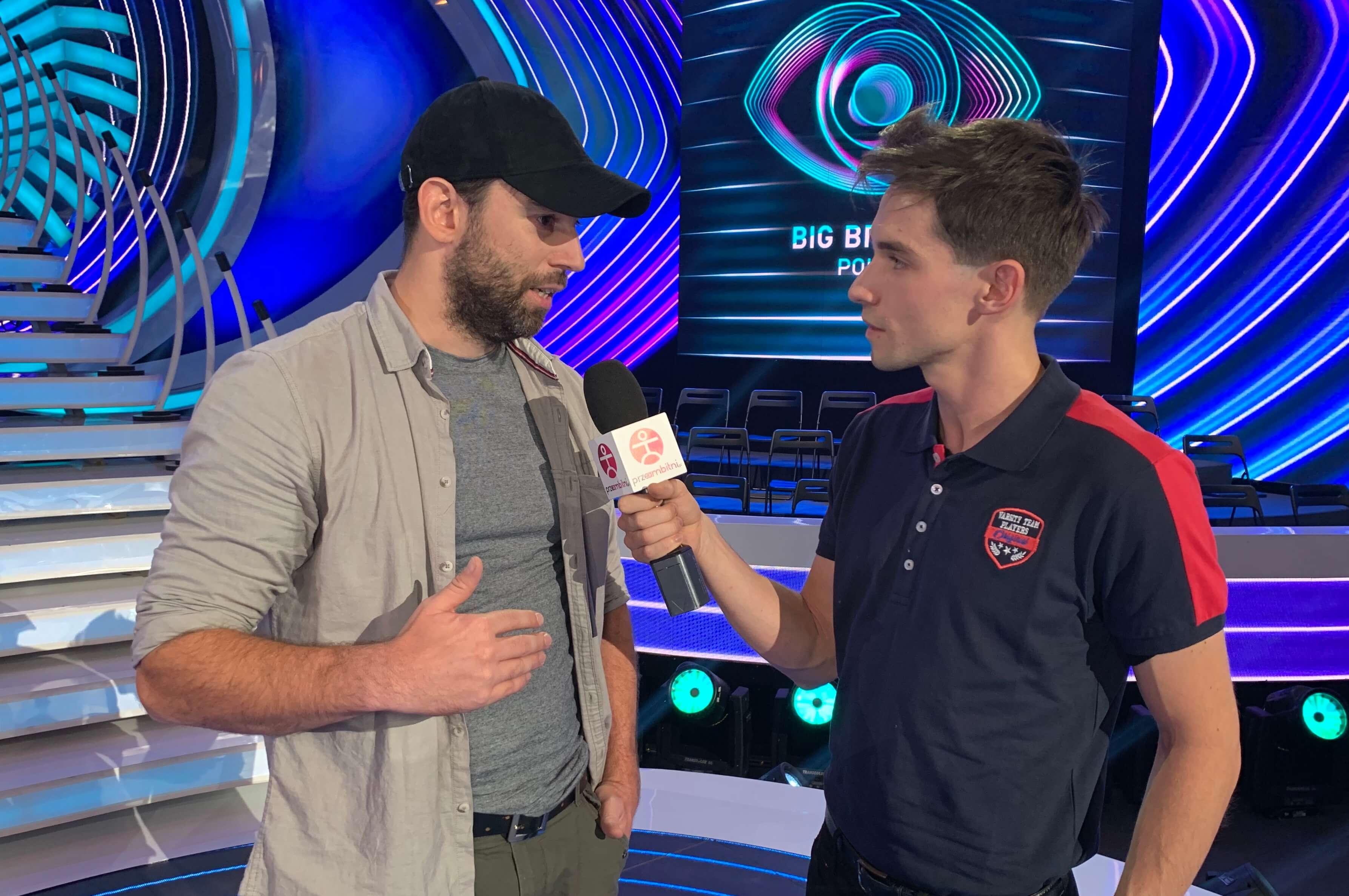 Przemysław Karda z Big Brothera rozmawia z Łukaszem Darłakiem z portalu przeAmbitniPL 04