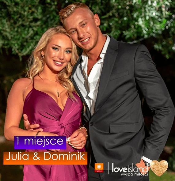 Julia Nowakowska i Dominik Grot/ fot. instagram: @loveislandwyspamilosci